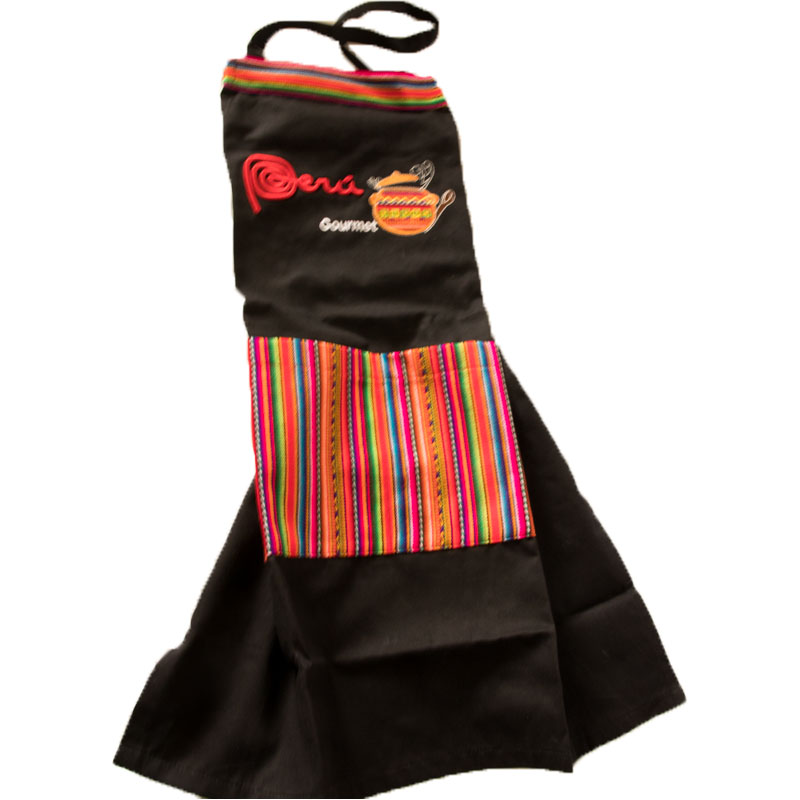 Personalized Kitchen Apron Embroidered Details