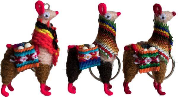 llama-keychain-scarf-A