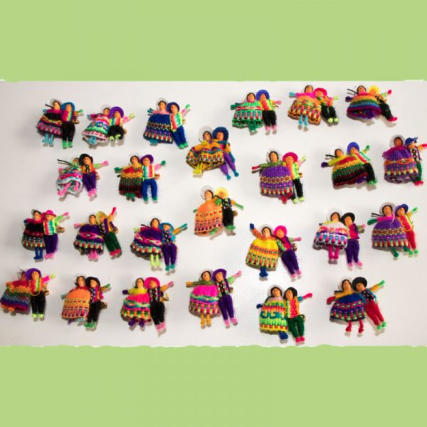 Assorted-Andean-miniature-dolls
