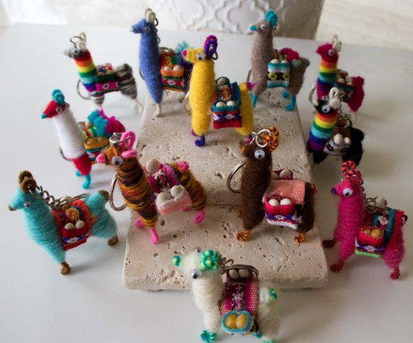 Miniature llamas assorted color