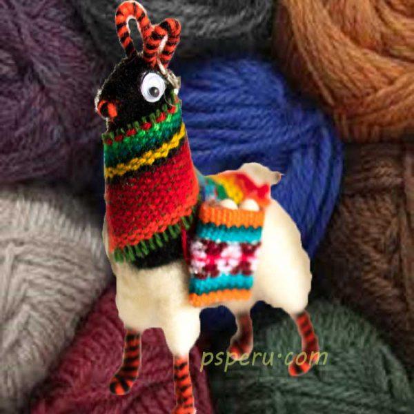 miniature-llama-key-chains