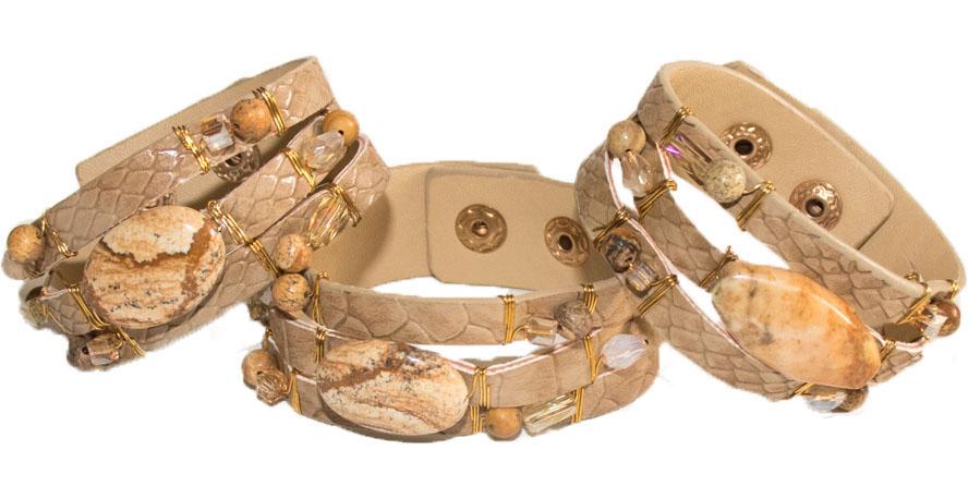 Handmade Artisan Leather Bracelet