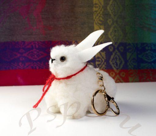 Fur-alpaca-wool-bunny
